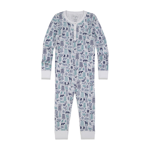 Nordic Blue Pajama Set