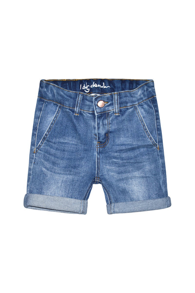 Soho Chino Shorts, Denim