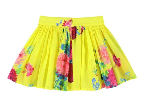 Ferrari Big Flores Citrus Skirt