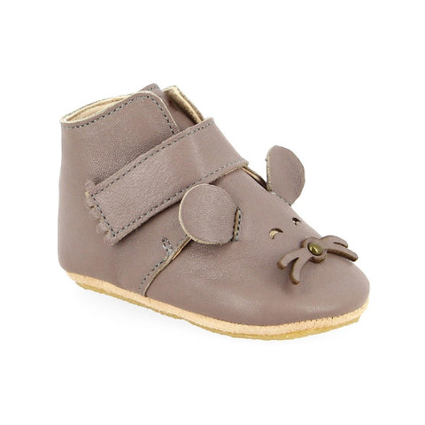 Kiny Mouse Leather Bootie