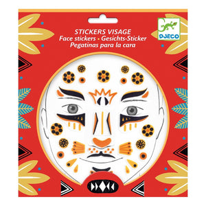 Face Stickers, Leopard