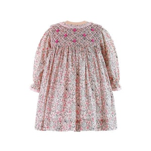Posy Smocked Dress & Bloomers