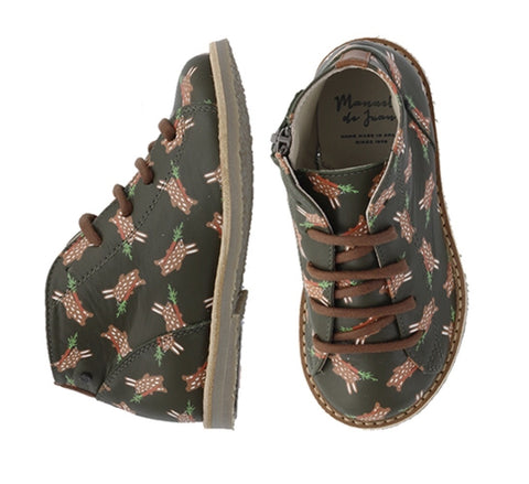 Sean Army Rabbit Boot