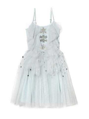 Frosted Skies Tutu Dress - Frosted