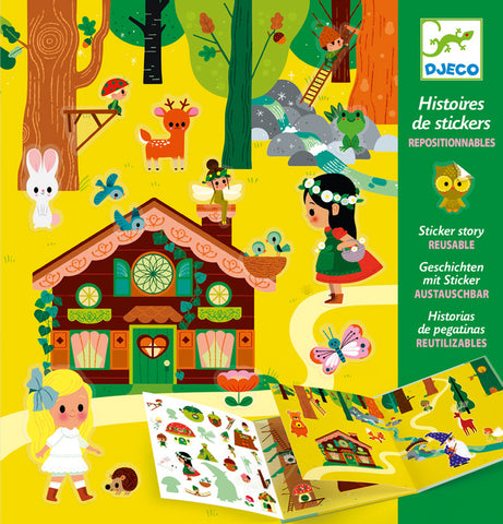 The Magical Forest Sticker Stories