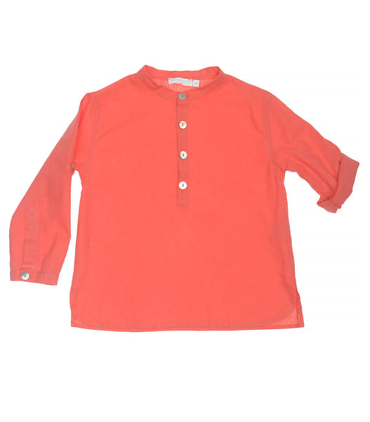 Coral Long Sleeve Top