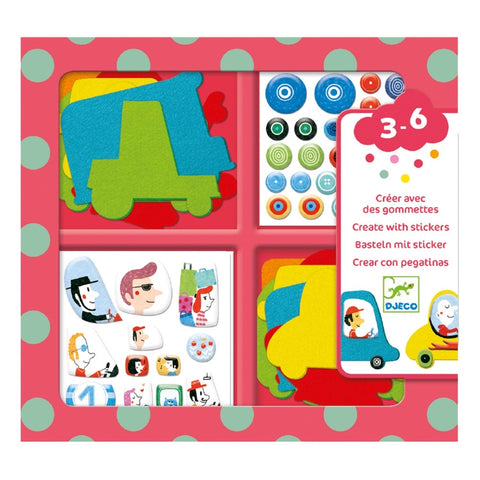 Create with Stickers Kit