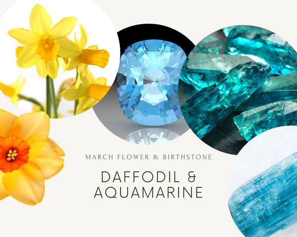 Flower and Birthstone for March
