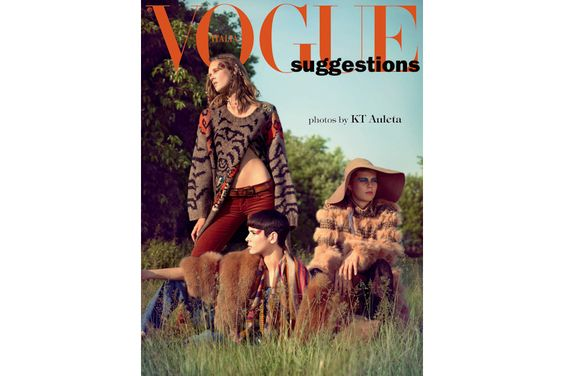 Nagicia on Vogue Italia