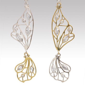 nagicia butterfly earrings
