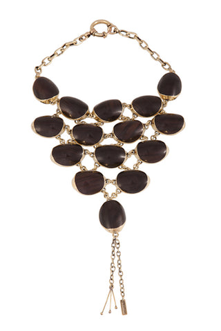 nagicia namu bib necklace NYFW