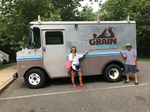 grain surfboards truck amagansett