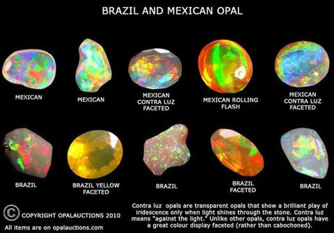 mexican fire opals