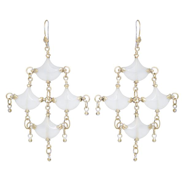 Mini-Chandelier Earrings