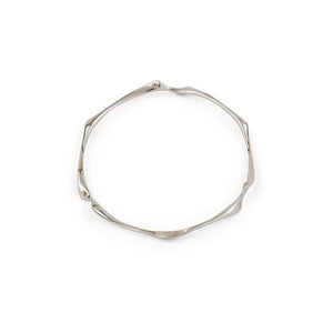 nagicia jewelry root bangle silver