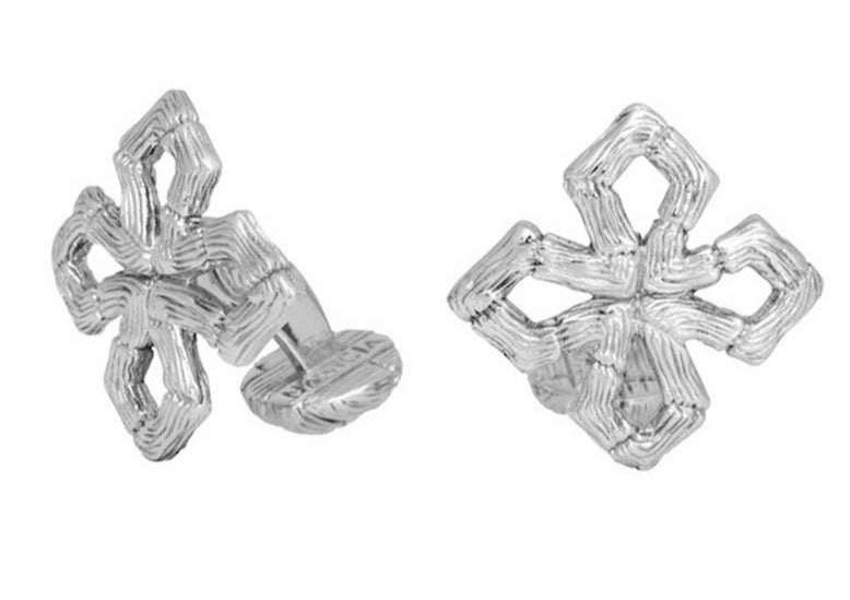 Maltese Cross Cufflinks-nagicia-jewelry-handcrafted-in-bali