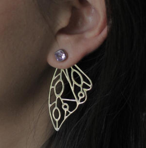 nagicia jewelry butterfly wing ear jacket