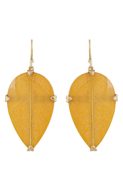 Leaf Eardrops-nagicia-jewelry-handcrafted-in-bali