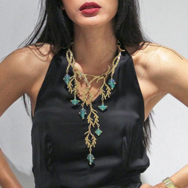 Savage Beauty Necklace-nagicia-jewelry-handcrafted-in-bali