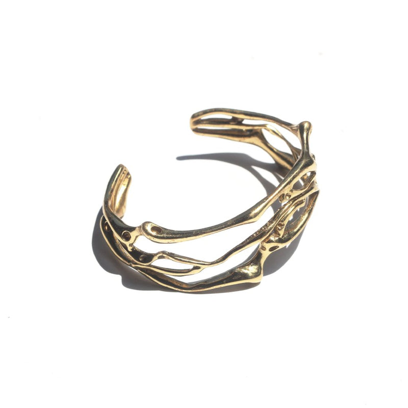 Roots Entwined Cuff Bracelet 2 - nagicia