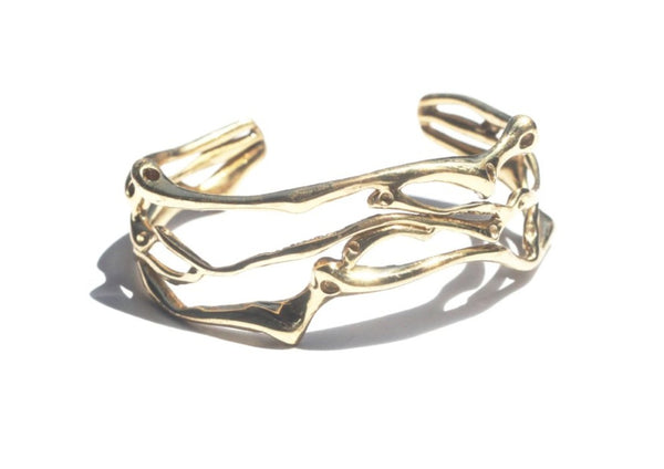 Roots Entwined Cuff Bracelet 2-nagicia-jewelry-handcrafted-in-bali