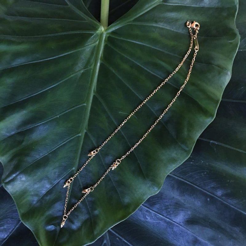 Lotus Buds Necklace - nagicia