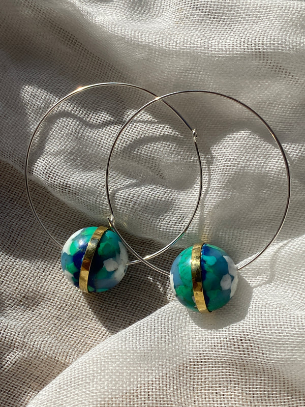 Dunia Hoop Earrings
