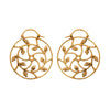 LOTUS BUD SPIRAL EARRINGS