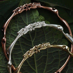 Dragon Root Bangle Bracelet-nagicia-jewelry-handcrafted-in-bali