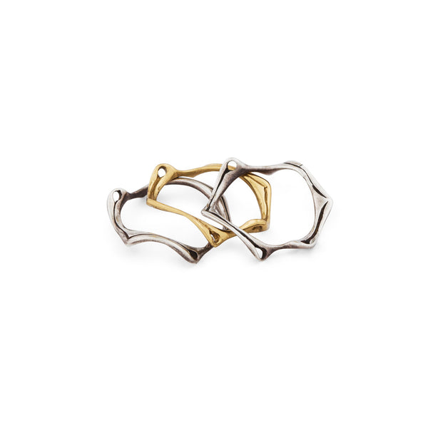 Stackable Root Ring - nagicia