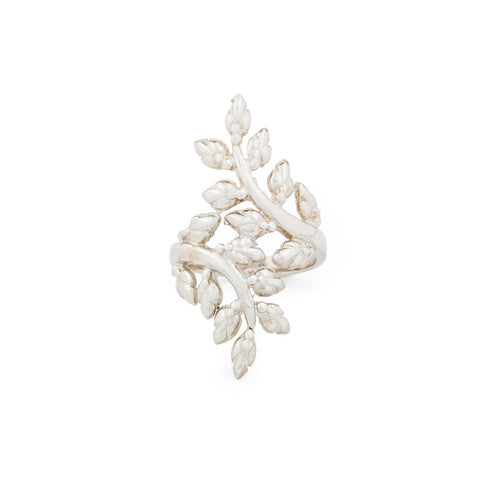LOTUS BUD VINE RING