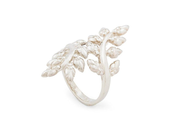 Lotus Buds Vine Ring - nagicia