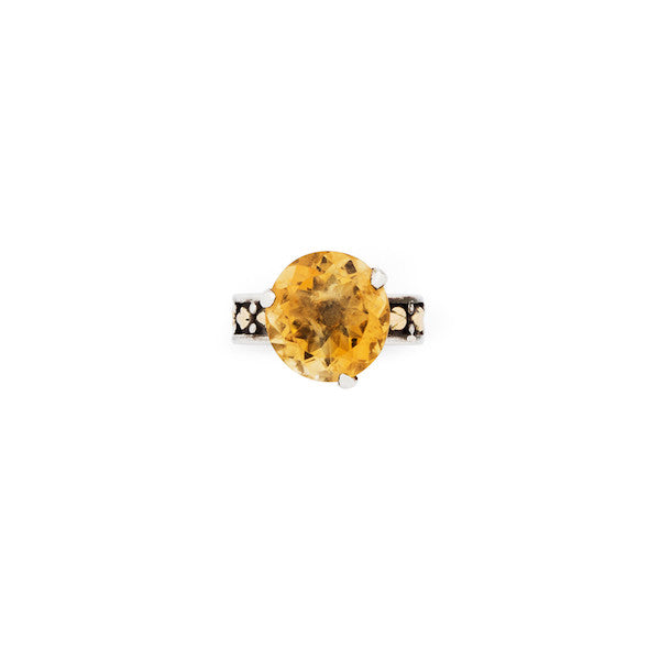Lotus Bud Gemstone Ring - nagicia