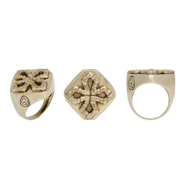 His Maltese Cross Ring-nagicia-jewelry-handcrafted-in-bali