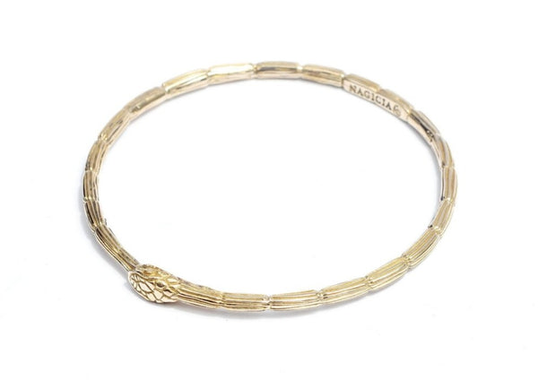 Ouroborous Bangle-nagicia-jewelry-handcrafted-in-bali