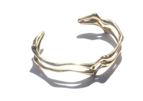 Roots Entwined Cuff Bracelet