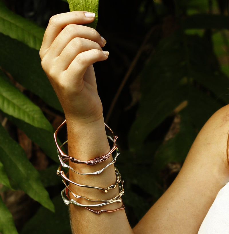 Quintessential Root Bangle-nagicia-jewelry-handcrafted-in-bali