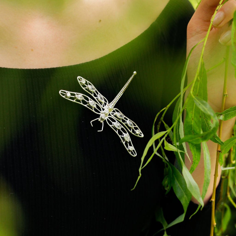 Dragonfly Pin / Pendant-nagicia-jewelry-handcrafted-in-bali
