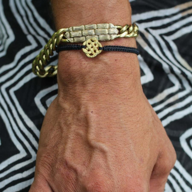 Infinity Knot Cord Bracelet-nagicia-jewelry-handcrafted-in-bali