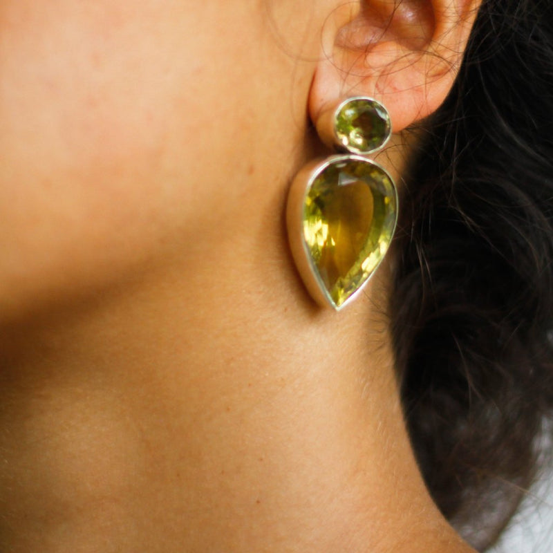 Indian Citrine Ear post-nagicia-jewelry-handcrafted-in-bali