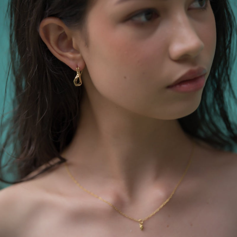Twisty Root Earhoops-nagicia-jewelry-handcrafted-in-bali