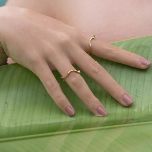 Stackable Root Ring-nagicia-jewelry-handcrafted-in-bali