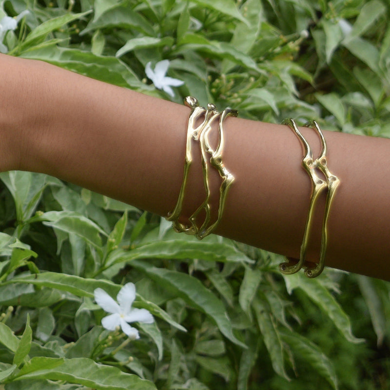 Roots Entwined Cuff Bracelet - nagicia