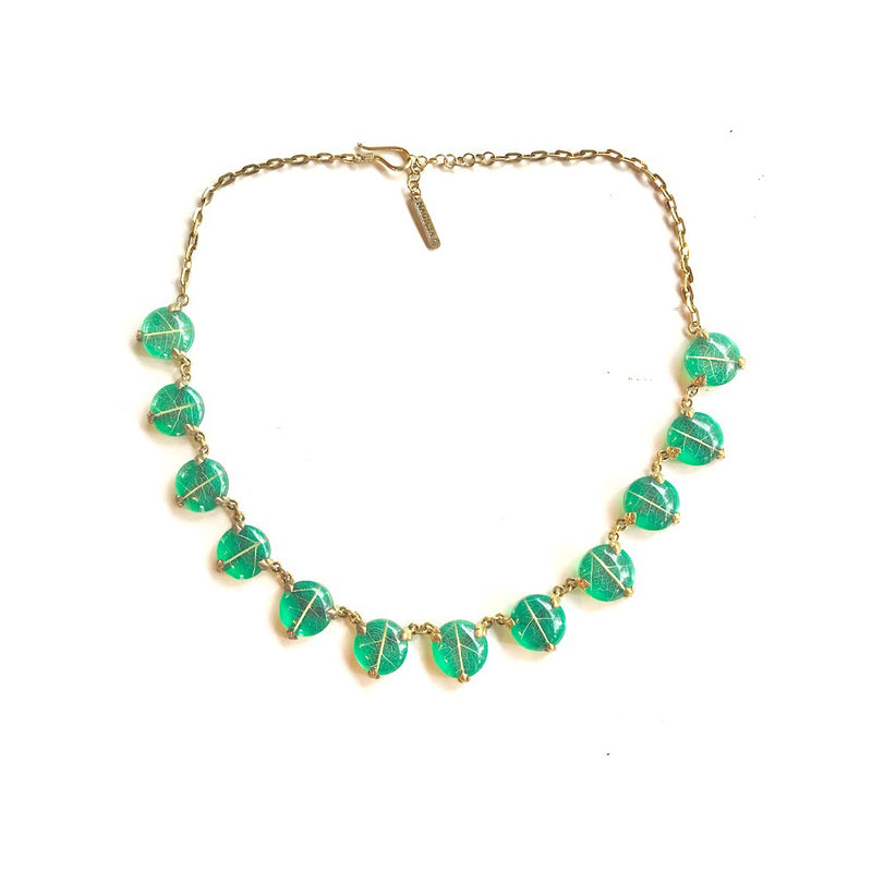 Sirsak Dots Collar Necklace - nagicia