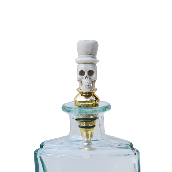 Groom Skull Bottle Stopper - nagicia