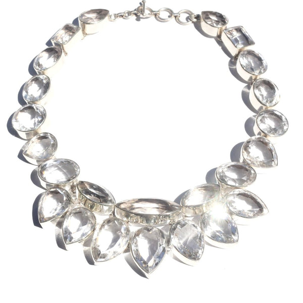 Indian Roc Quartz Necklace - nagicia