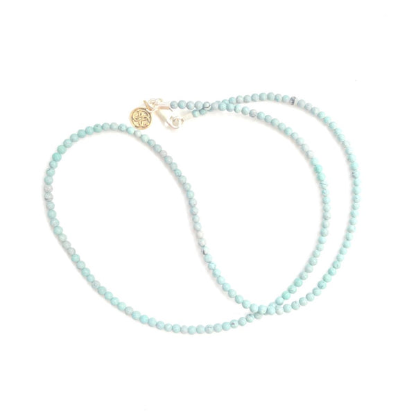 Turquoise beads necklace - nagicia