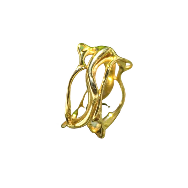 Twisty Root Ring