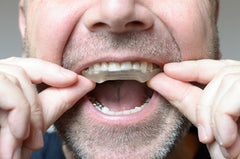 buy clear bruxism mouth guard