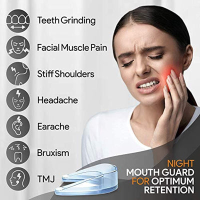 Night Guard Eliminates Bruxism & Teeth Clenching